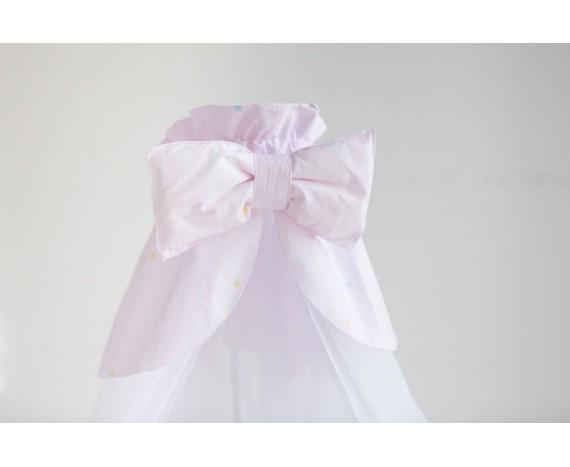 Постелька для новорождённых Баю-Бай Мечта розовый 9-ти предметный