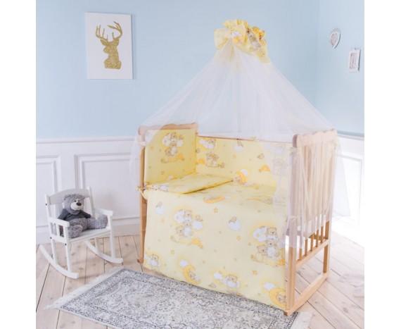 Постелька для новорождённых Баю-Бай Нежность бежевый 7-ми предметный
