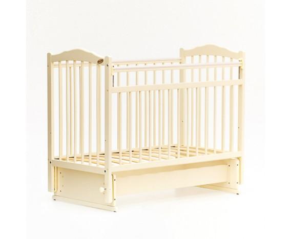 Кроватка «мультимаятник» без ящика Классик слоновая кость