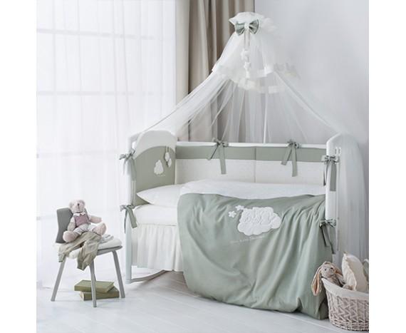 Постелька для новорожденных Перина Bambino Olive