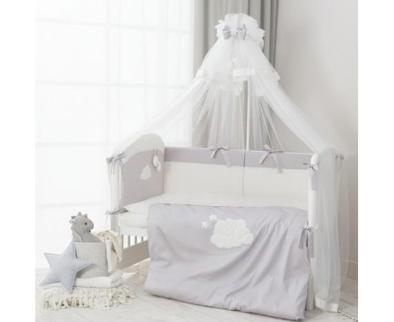 Постелька для новорожденных Перина Bambino Grey